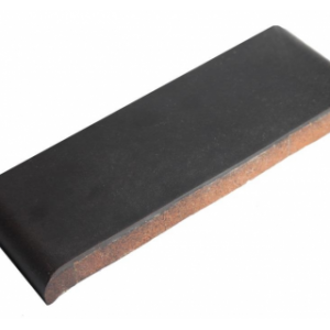 Керамическая парапетная плитка КР30 графит