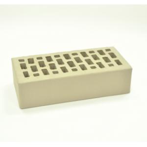 Керамический пустотелый кирпич светло-серый гладкий 250*120*65 мм