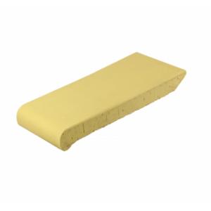 Клинкерный подоконник желтый 180