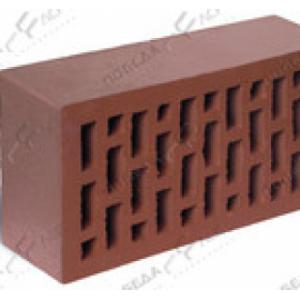 Керамический кирпич коричневый гладкий 250*120*65