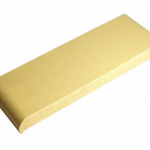 Керамическая парапетная плитка КР30 желтый