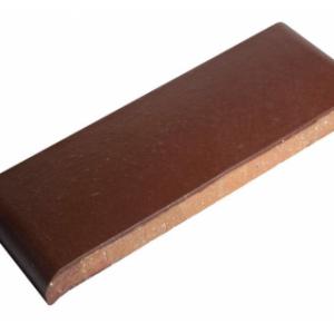 Керамическая парапетная плитка КР20 вишневый