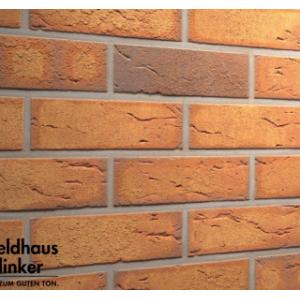 Фасадная термопанель с клинкерной плиткой Feldhaus Klinker R268NF9 20мм с ППУ