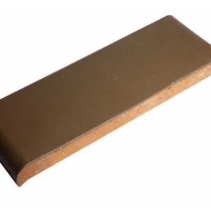 Керамическая парапетная плитка КР30 коричневый