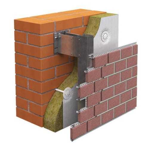 клинкерная плитка для систем навесных вентилируемых фасадов DIAT